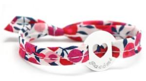 Bracelet Liberty Coeur Argent