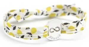 Bracelet Liberty Ruban Infini Argent