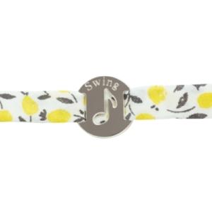 Bracelet Liberty Note de Musique Argent
