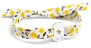 Bracelet Liberty Ruban Star Argent