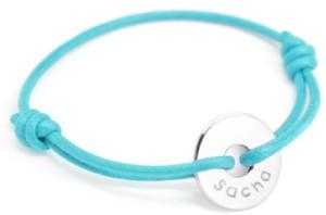 Bracelet Mini Jeton Argent