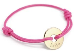 Bracelet Mini Jeton Plaqué Or