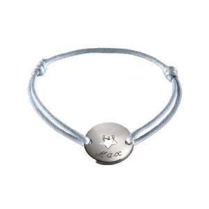 Bracelet Mini Jeton Star Argent