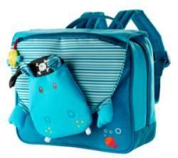 Cartable Arnold Bleu