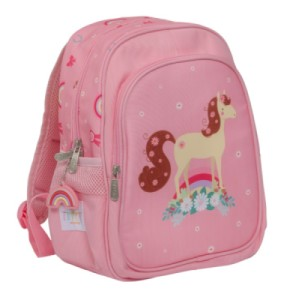 Cartable Cheval Rose