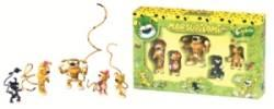 Coffret 5 Figurines Marsupilami