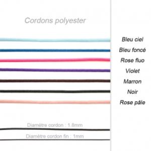 Cordons Polyester