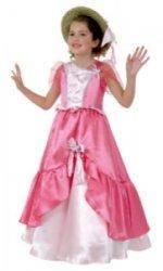 Costume Princesse Rose 3 à 5 ans