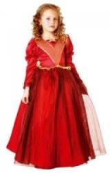 Costume Reine Rouge 3 à 5 ans
