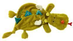 Doudou Marionnette Dragon Walter