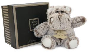 Peluche Hippo Boule Zanimoos - 24 cm