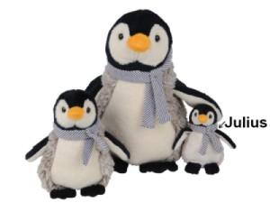 Peluche Pingouin Julius - 15 cm