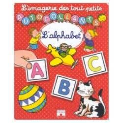 L'Imagerie des tout-petits Autocollants l'Alphabet