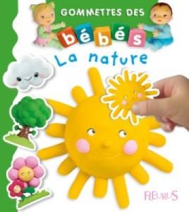 Livre les Gommettes des Bébés La Nature