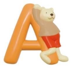 Lettre Alphabet A Orange La Grande Famille