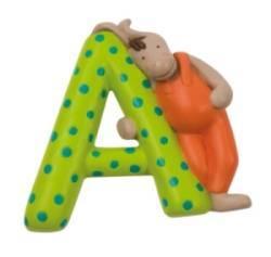 Lettre Alphabet A Vert