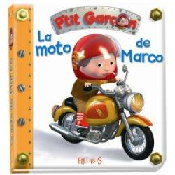 Livre La Moto de Marco - Petit Garçon