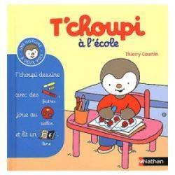 Livre Tchoupi à l'Ecole