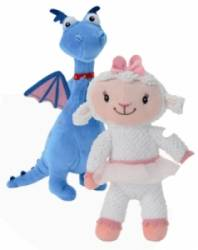 Lot de 2 Peluches Lambie et Stuffy