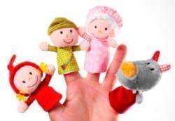 Marionnettes à Doigt Petit Chaperon Rouge