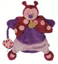 Marionnette Coccinelle Framboiselle