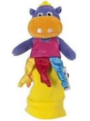 Marionnette Hippopotame Lulu