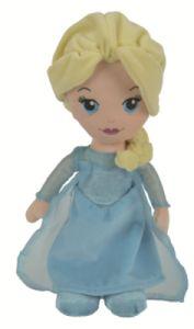 Peluche Poupée Elsa - 25 cm