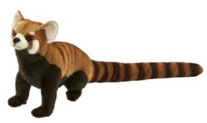 Peluche Panda Roux Assis - 35 cm