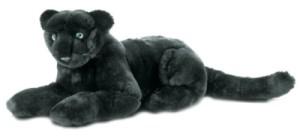 Peluche Panthère Noire Couchée 35 cm