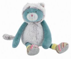 Peluche Chat Chacha Les Pachats - 23 cm