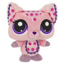 Peluche Chat Rose Petshop -18 cm