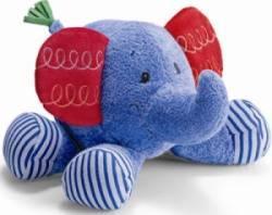 Peluche Eléphant Bleu