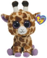 Peluchette Girafe Safari Beanie Boo's - 15 cm
