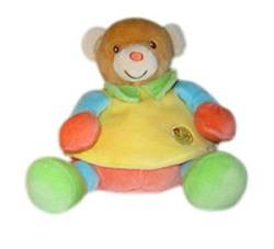 Peluche Ours Nacre