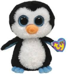 Peluchette Pingouin Waddle Beanie Boo's - 15 cm
