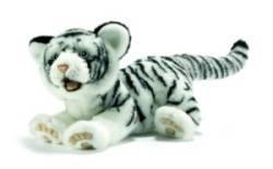 Peluche Tigre Blanc Ushuaïa - 35 cm