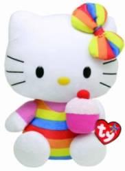 Peluche Hello Kitty Cup Cake Beanie Babies - 28 cm