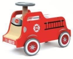 Porteur Bois Camion de Pompier