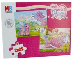Puzzle 2x25 Pièces Mon Petit Poney