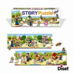 Puzzle Histoire Maison Chien
