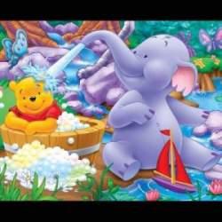 Puzzle Winnie et Efelant 10 Pièces