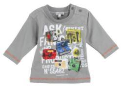 Tee-Shirt Manches Longues Gris 3 Ans