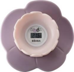 Thermomètre de Bain Lotus Poudré Rose