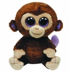Peluchette Singe Coconut Beanie Boo's - 15 cm