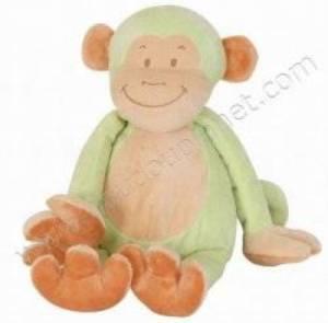 Peluche Singe Vert - 35 cm