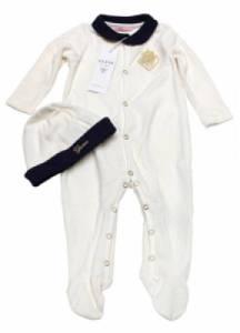 Pyjama et Bonnet Ivoire Fille 12 mois