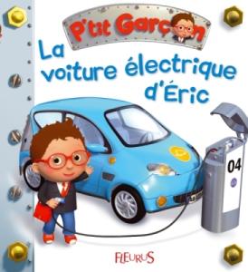 Livre Petit Garçon - La voiture électrique d'Eric