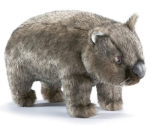 Peluche Wombat - 26 cm