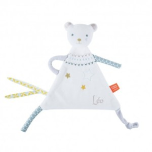 Doudou Ours Blanc Z'Anepasperdre