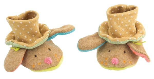 Moulin Roty Chaussons Chien Jean Jean Les Tartempois
